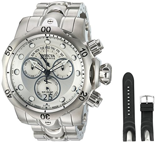 invicta-mens-1537-reserve-venom-chronograph-silver-dial-stainless-steel-watch