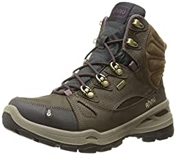 Ahnu Women\'s North Peak eVent Backpacking Boot, Smokey Brown, 9 M US
