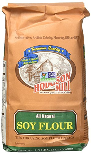 Hodgson Mill Soy Flour, 1.5-Pounds (Pack of 6)