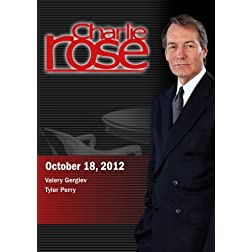 Charlie Rose - Valery Gergiev / Tyler Perry (October 18, 2012)