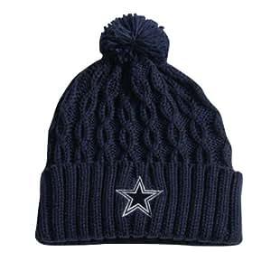 Dallas Cowboys Women's Mineral Wells Navy Knit Hat