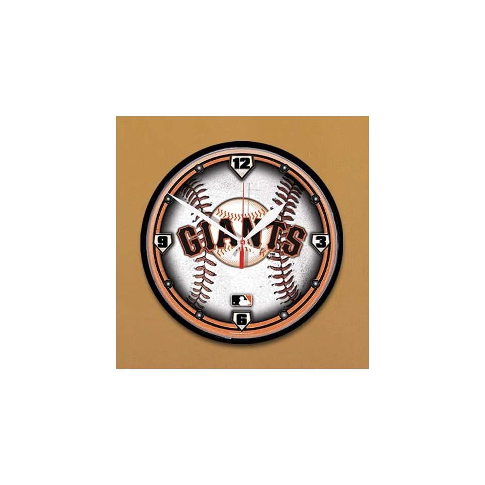 San Francisco Giants Baseball Wall Clock