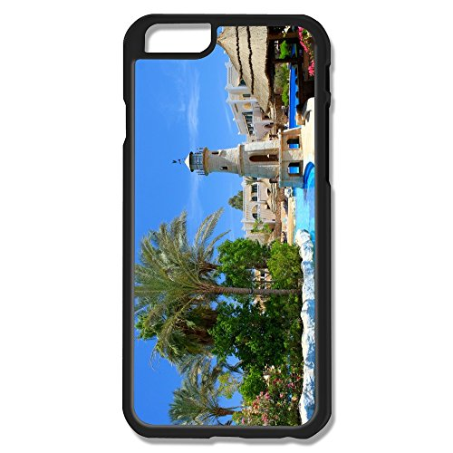 Pool View Plastic Funny Case For Iphone 6
