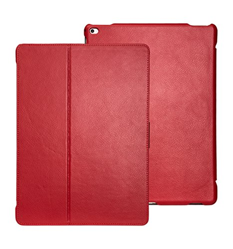 futlex-genuine-leather-tab-closure-case-for-ipad-pro-129-red-unique-design-multiple-stand-position-a