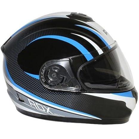 Casque moto intégral ADX XR2 - Double écran - Noir / Bleu
