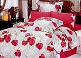 Lucia Queen Size Duvet Cover Bedding Set by Le Vele