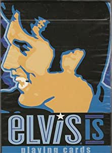 Elvis Presley Playing Cards By Bicycle - Design #1 Kin Rock'n Roll