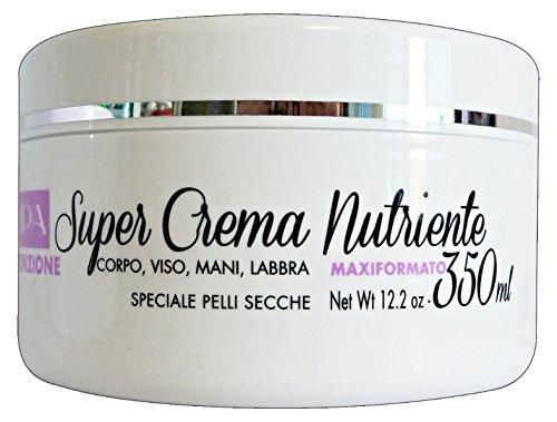 Crema Multifunzione Super Crema Nutriente 350 ml Per Pelli Secche