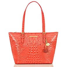 Medium Asher Tote<br>Glossy Pimento Melbourne