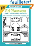 Ready-To-Use Art Nouveau Small Frames...