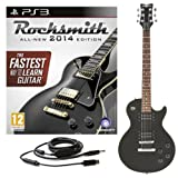 Rocksmith 2014 PS3 + Guitare Electrique New Jersey II Noire