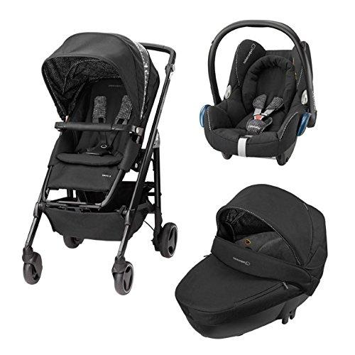 Bebè Confort Trio Loola 3 Windoo Plus Cabriofix Digital Black
