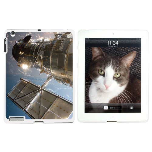 Hubble Telescope - Astronomy Space - Snap On Hard Protective Case For Apple Ipad 2 2Nd 3 3Rd 4 4Th (New) Generations - White