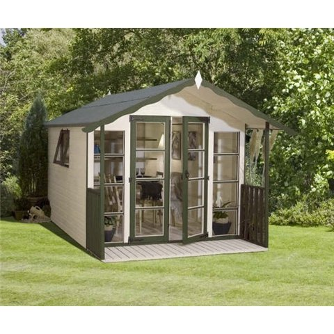 8ft x 8ft WESSEX SUMMERHOUSE