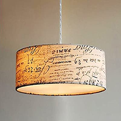 Doodle Modern Drum Swag Lamp Pendant Light Fixture Hanging Chandelier DIY ~ITEM #GH8 3H-J3/G8317700