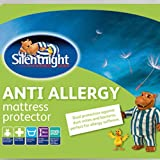Silentnight Anti Allergy Single Mattress Protector 90cm x193cm x 30cm Extra Deep
