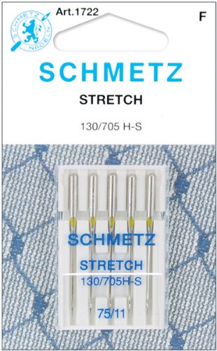 Best Prices! Stretch Machine Needles-Size 11/75 5/Pkg