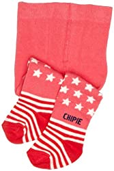 Chipie Bowy Baby Girl's Tights from Chipie
