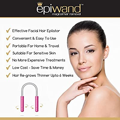 Best Cheap Deal for Epiwand Facial Hair Removal Set - Effectively Remove Face Hair Without The Use of Tweezers,Threading Systems,Wax Strips or Laser & Electrolysis Treatments(Includes 1 x Epilator & 1 x Eyebrow Shaper). from Epiwand Limited - Free 2 Day S