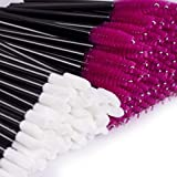Disposable Lipstick Applicators Mascara Wands - Disposable Makeup Applicators 200 Pcs Disposable Mascara & Lipstick Makeup Brushes BTArtbox Eyelash & Lip Gloss Brushes Applicators Cosmetic Tool (Color: B-200Pcs Brush Set)