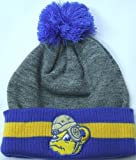 UCLA Bruins Mitchell & Ness Jersey Stripe Cuffed Knit Hat w/ Pom at Amazon.com