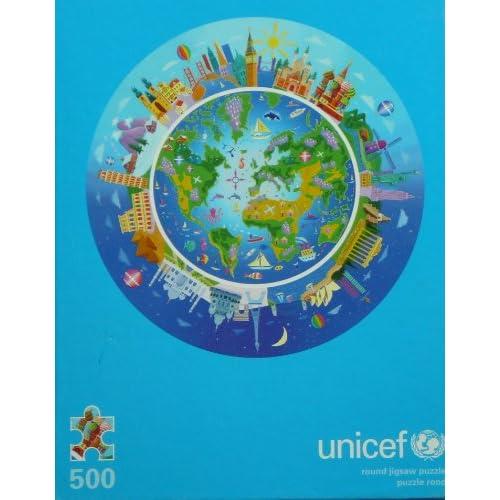 Amazon.com: Unicef: Round Jigsaw Puzzle