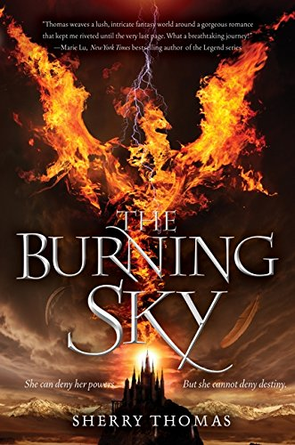 Image of The Burning Sky (Elemental Trilogy)