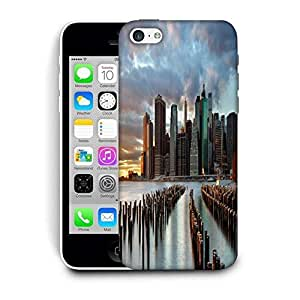 Snoogg Manhattan World Printed Protective Phone Back Case Cover For Apple Iphone 6+ / 6 Plus