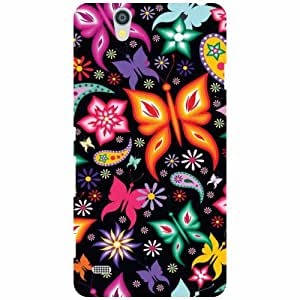 Back Cover For Sony Xperia C4 (Printed Designer)