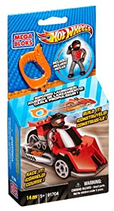 Mega Bloks Hot Wheels Outrageous Red Dragster