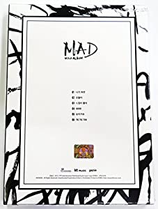 GOT7 - MAD (4th Mini Album) [Vertical Ver.] CD + 52p Photobook + Official Photocard + Folded Poster + Extra Gift Photocard Set