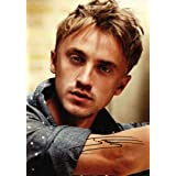 Harry Potter Tom Felton Draco Signed PP A4 21cm x 29.7cm Poster Photoby Tom Felton