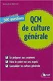 echange, troc Geneviève Winter - QCM de culture générale