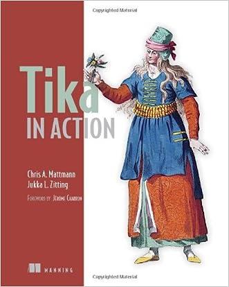 Tika in Action written by Chris Mattmann