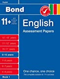 J M Bond Bond English Assessment Papers 9-10 Years Book 1