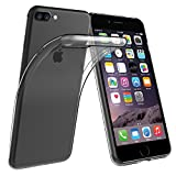 Simpeak iPhone 7 Plus 用 TPUクリア透明ケース保護カバー