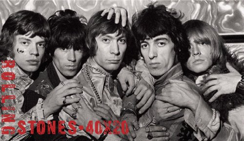 Rolling Stones 40x20