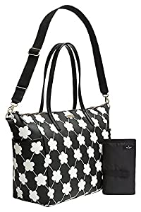 Kate Spade Grant Street Adaira Baby Bag, Fresh Air/Cream Dots by Kate Spade York from Kate Spade New York