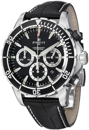 Perrelet Diver Seacraft Chronograph Men's Automatic Watch A1054-2