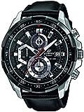Casio - EFR-539L-1AVUEF - Edifice - Montre Homme - Quartz Analogique - Cadran Noir - Bracelet Cuir Noir