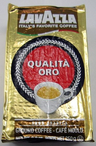 Lavazza Ground Coffee Qualita Oro 250g (4-pack)
