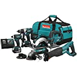 Makita DLX6007M 6 Piece Cordless Combo Kit