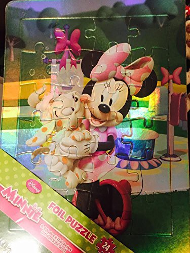 Minnie 24 Piece Foil Puzzle by Disney