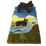 Black Bear Wilderness Kids Slumber Sleeping Bag