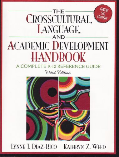 The Crosscultural Language and Academic Development Handbook: A Complete K - 12 Reference Guide -- Third 3rd Edition PDF