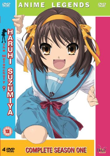 The Melancholy Of Haruhi Suzumiya: Complete Season One- Anime Legends [DVD]