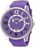 テンデンス Tendence Slim Pop Purple Watch With White And Black Detail (TG131002) [並行輸入品]