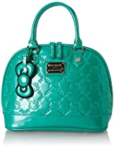 Hello Kitty Emerald Patent Embossed Top Handle Bag,Multi,One Size