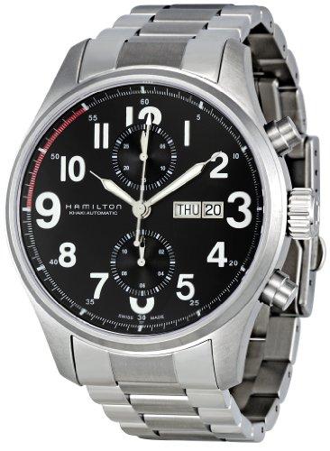 Hamilton H71716133 - Reloj Hombre KHAKI OFFICER AUTO CHRONO