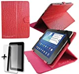 Luxury Rose Pink Crocodile Leather Case Cover Stand for CnM 7DC-16 7 Inch Touchpad 7